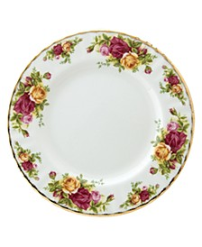 "Old Country Roses 8"" Salad Plate"