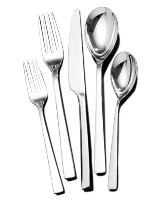 towle living luxor 42pc flatware set service for 8