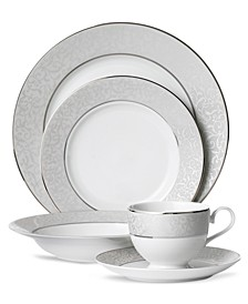 Parchment 5 Piece Place Setting