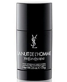 Yves Saint Laurent Men's La Nuit de L'Homme Deodorant Stick, 2.6 oz.