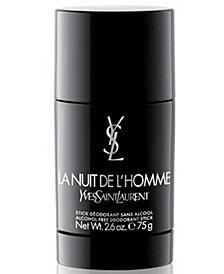 Yves Saint Laurent Men's La Nuit de L'Homme Deodorant Stick, 2.6 oz.