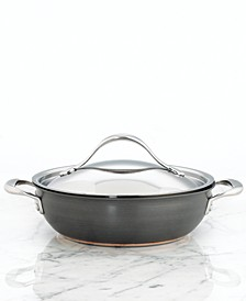 Nouvelle Hard-Anodized Copper 4 Qt. Covered Casserole