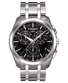 Tissot Men's Chronograph Stainless Steel Bracelet Watch 41mm T0356171105100