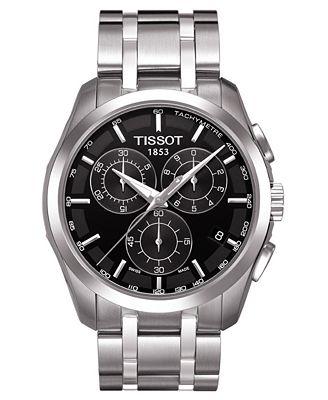 tissot s chronograph stainless steel bracelet