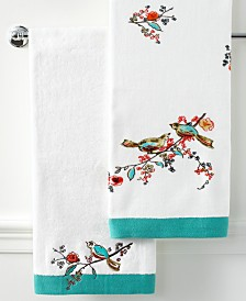 Lenox Simply Fine Bath Towels, Chirp Collection