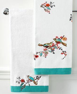 Lenox Simply Fine Bath Towels Chirp Collection Bath