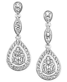 Raindrop Crystal Earrings, Created for Macy's