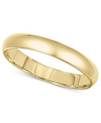14k Gold 3mm Comfort Fit Wedding Band