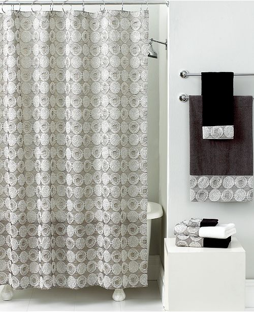 Avanti Bath Accessories Galaxy Shower Curtain