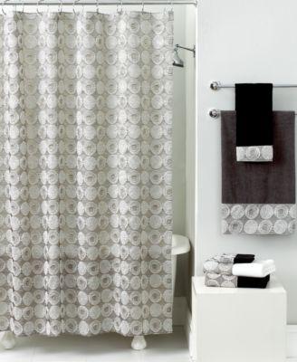 avanti bath accessories galaxy shower curtain