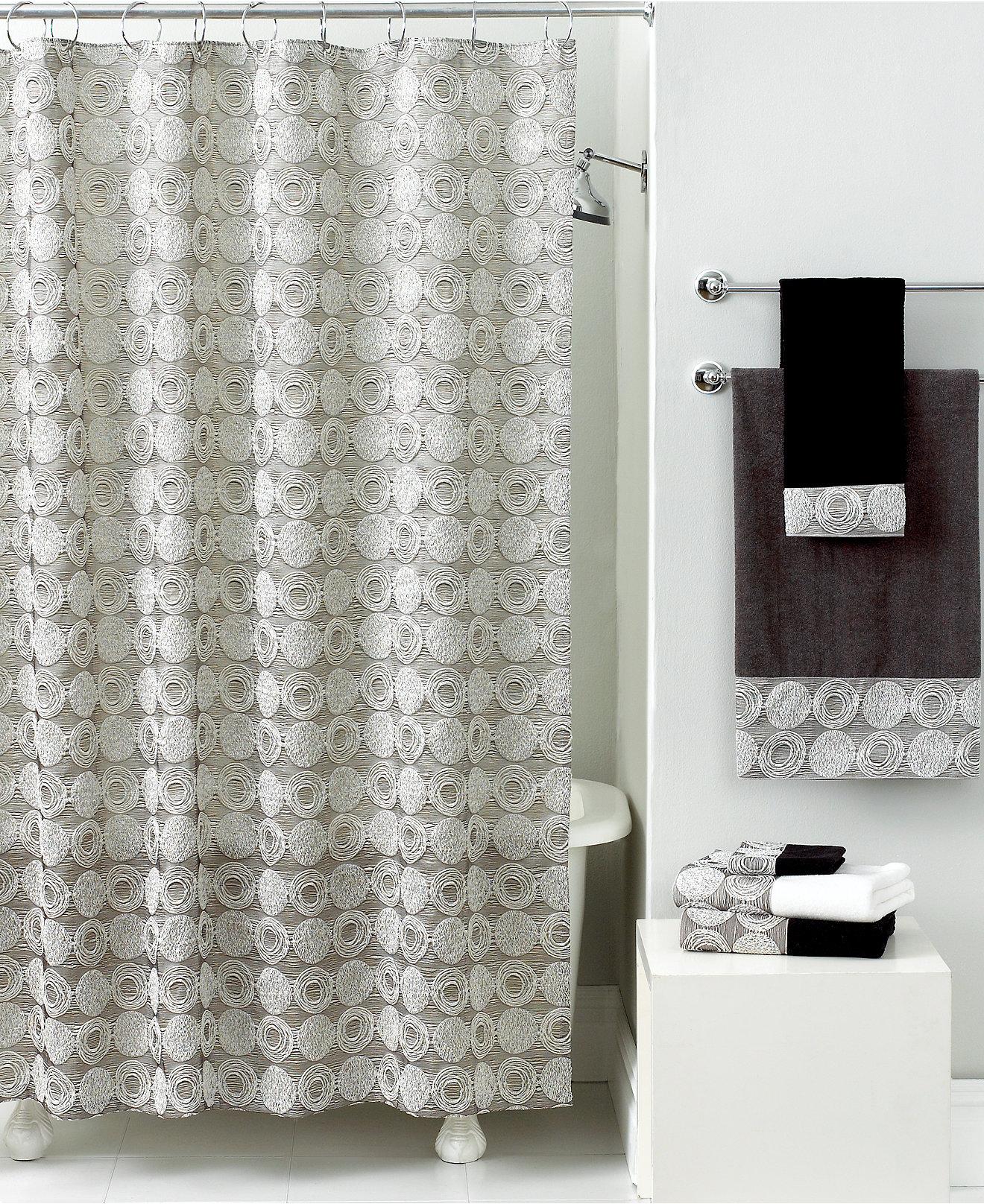 Chevron bathroom sets with shower curtain and rugs - Avanti Bath Galaxy Collection Bathroom Accessories Bed Bath Macy S