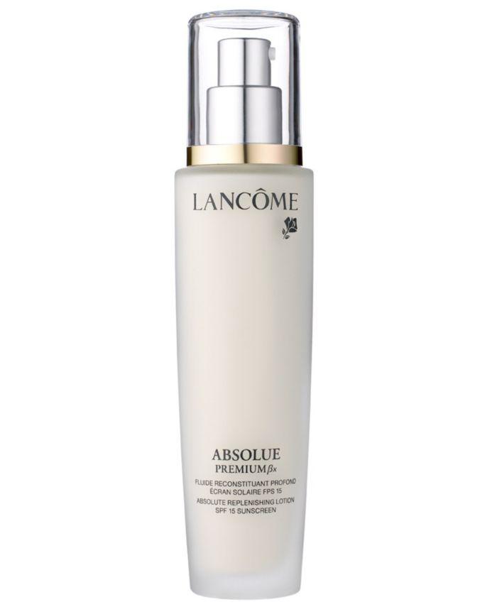 Lancôme Absolue Premium Bx SPF 15 Moisturizer Cream and Sunscreen Lotion, 2.5 oz. & Reviews - Skin Care - Beauty - Macy's