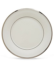 Solitaire White Salad Plate
