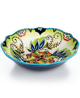 Espana Bocca Scalloped Serving Bowl - Serveware - Dining ...