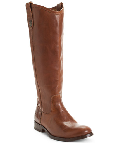 Frye Women S Melissa Button Wide Calf Boots Boots