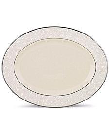 Lenox Pearl Innocence Medium Oval Platter