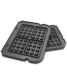 GR-WAFP Waffle Plates, Griddler Attachment