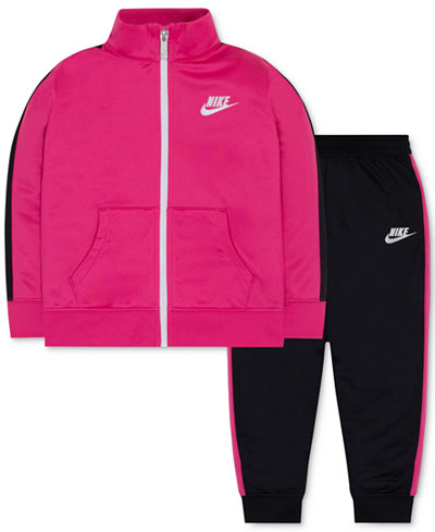 Nike 2-Pc. Track Suit, Toddler & Little Girls (2T-6X)