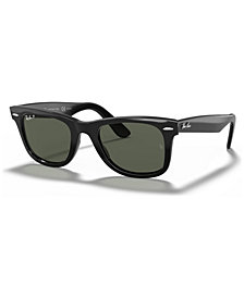 Ray-Ban Polarized Original Wayfarer Sunglasses, RB2140