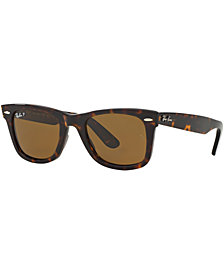 Ray-Ban Polarized Original Wayfarer Sunglasses, RB2140 50