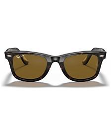 Ray-Ban Polarized Sunglasses , RB2140 ORIGINAL WAYFARER