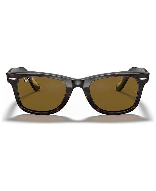 adf2a9497 Ray-Ban Polarized Sunglasses , RB2140 ORIGINAL WAYFARER & Reviews ...