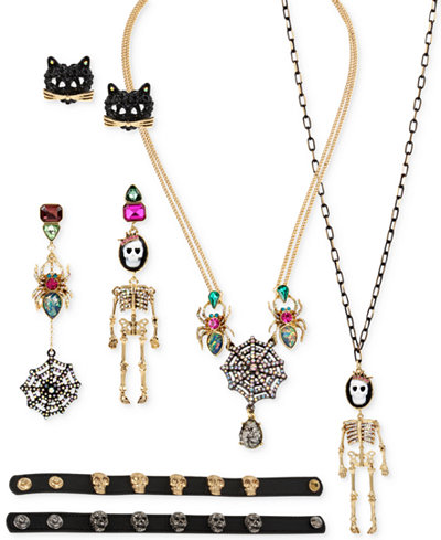 Betsey Johnson Halloween Jewelry Collection