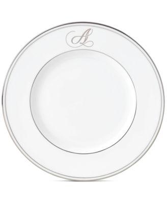 Federal Platinum Monogram Accent Plate, Script Letters