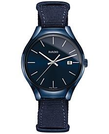 Unisex Swiss True Blue NATO Nylon Strap Watch 40mm R27235206