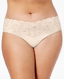 Plus Size Never Say Never Cutie Low Rise Thong NEVER0341P, Online Only
