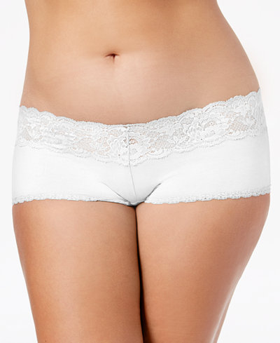 Cosabella Plus Size Never Say Never Hottie Cheeky Hot Pants NEVER0741P