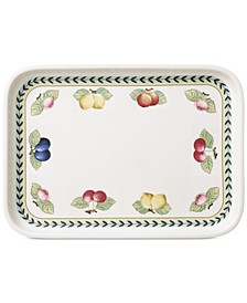 French Garden Rectangular Baking Lid & Serving Plate