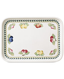 Villeroy & Boch French Garden Rectangular Baking Lid & Serving Plate