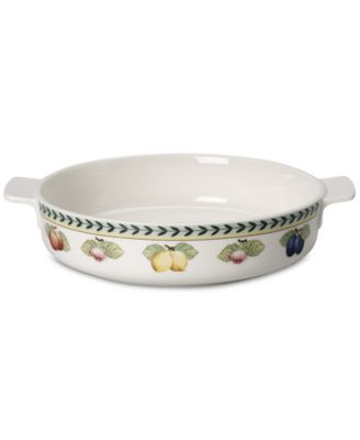 French Garden Round Baking Dish