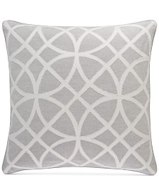 "Hotel Collection Connections 22"" Square Decorative Pillow, Created for Macy's"