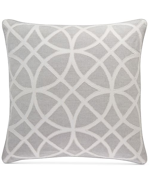 """Hotel Collection Connections 22"""" Square Decorative Pillow, Created for Macy's"""