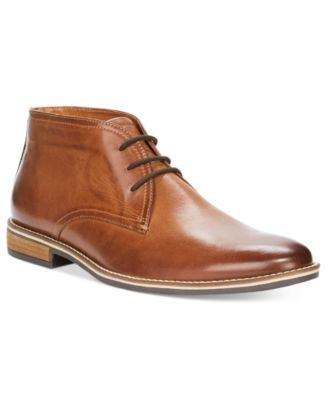 Dress lace up boots for men