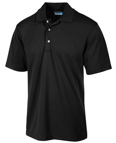 PGA TOUR Men's Airflux Solid Golf Polo Shirt - Polos - Men - Macy's