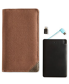 Dopp RFID Cell Phone Wallet With Power Bank