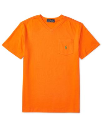 Image of Ralph Lauren Jersey Pocket T-Shirt, Big Boys (8-20)
