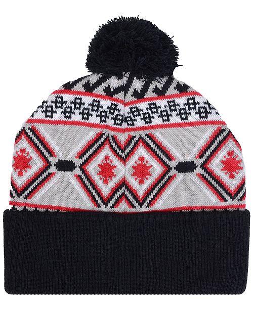 innovative design bef87 93ff6 ... store 47 brand chicago bulls hardwood classic up north knit hat sports  3e712 f36cd