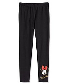Disney's® Little Girls Minnie Mouse Leggings