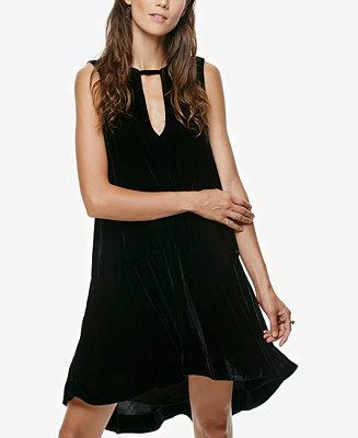 Free People Ruffled High-Low Dress
