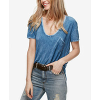 Free People Rising Sun Scoop-Neck T-Shirt