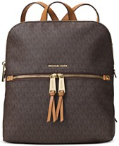 MICHAEL Michael Kors Signature Rhea Medium Slim Backpack f35f899965f1a