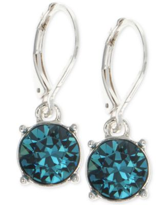 Image of Anne Klein Swarovski Crystal Drop Earrings