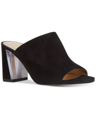 Image of Nine West Gemily Block-Heel Mules