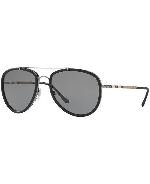 c5f3ad107b8 ... Burberry Polarized Polarized Sunglasses