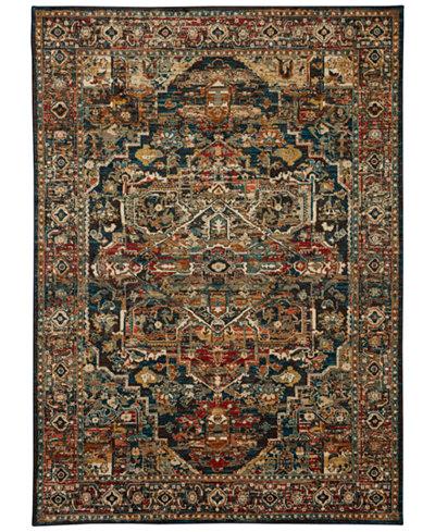 Karastan Spice Market Alacantara Sapphire 2 X 3 Area Rug