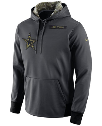 new product 48811 60970 Nike Men's Dallas Cowboys Salute to Service Hoodie & Reviews ...